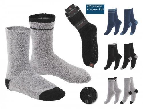 Domácí froté ponožky cbc80e18df