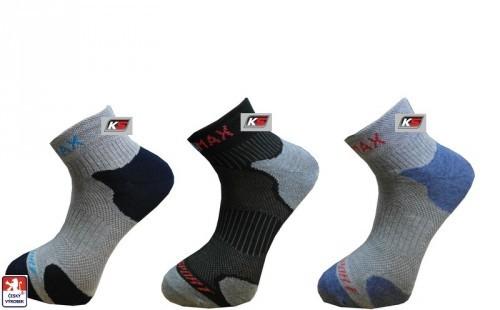 0d0b1599faf Ponožky sportovní KS COOLMAX pánské